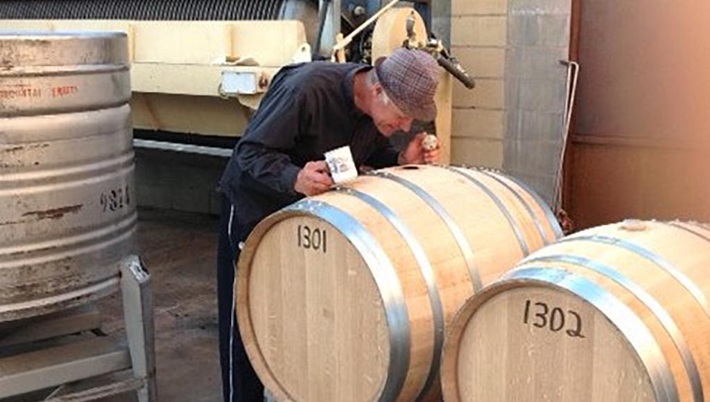 Gerald Naef, winemaker